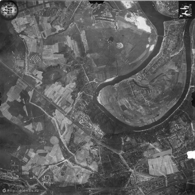 Немецкая аэрофотосъёмка острова 1